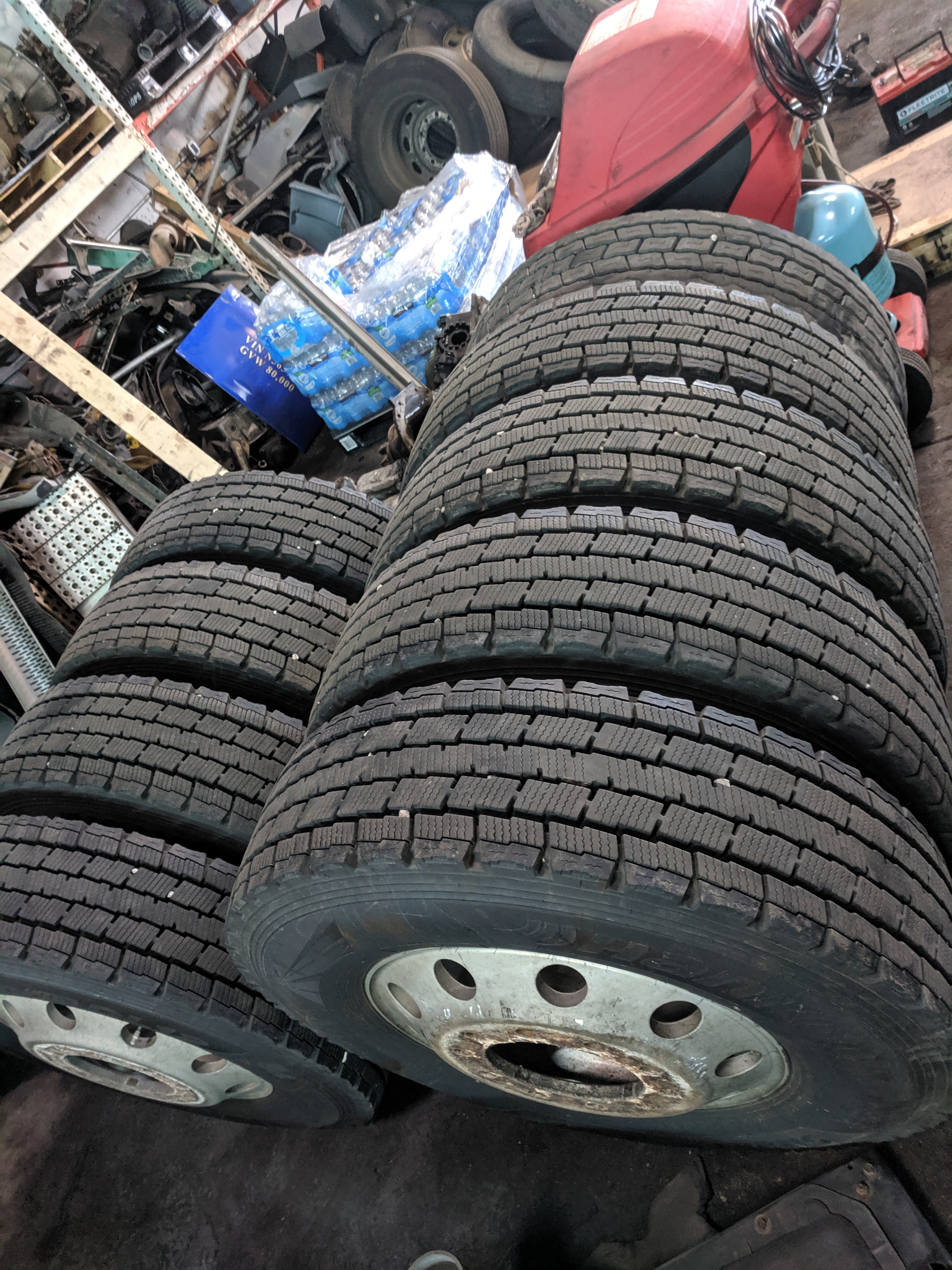TRUCK AND TRAILER TIRES